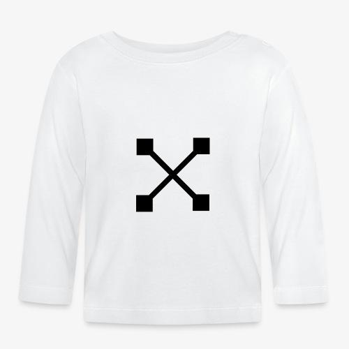 X BLK - Baby Langarmshirt