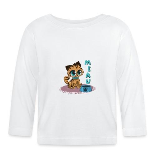 Miau - Baby Langarmshirt