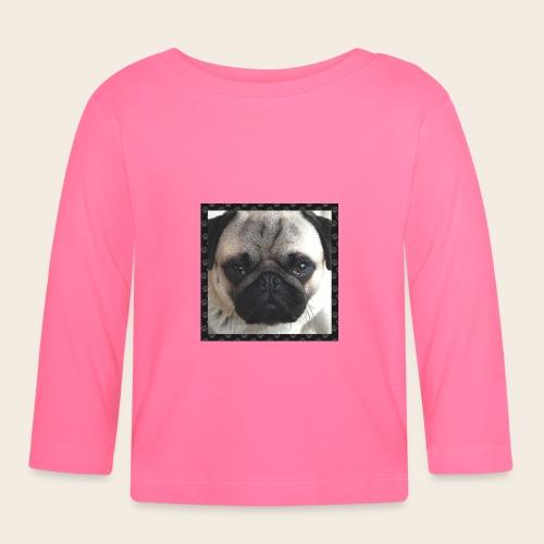 Mops Hund 2 - Baby Langarmshirt