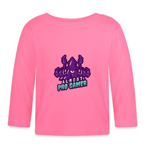 Almost pro gamer PURPLE - Maglietta a manica lunga per bambini