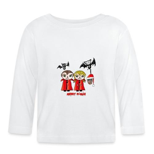 Frohe Weihnachten - Baby Langarmshirt