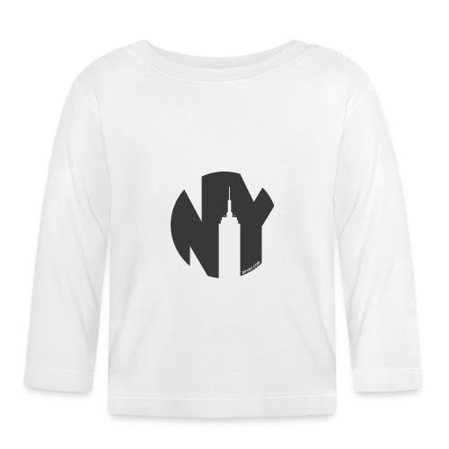 Logo French Yorker noir - T-shirt manches longues Bébé