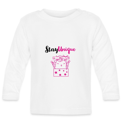 Stay Unique - Baby Langarmshirt
