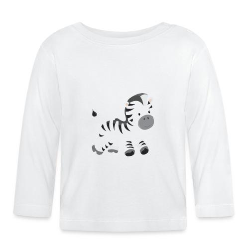 Zebra - Baby Langarmshirt