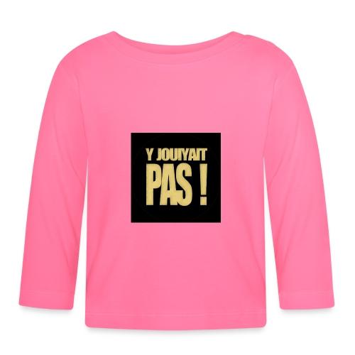 badgejouiyaitpas - T-shirt manches longues Bébé
