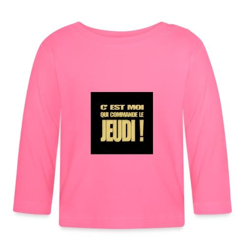 badgejeudi - T-shirt manches longues Bébé