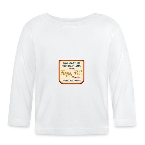 Rambo Hope Holidayland - Koszulka niemowlęca z długim rękawem