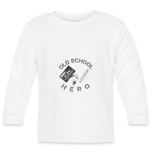 Old School Hero - Baby Langarmshirt