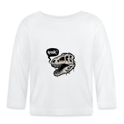DINO RAWR 1 - Camiseta manga larga bebé