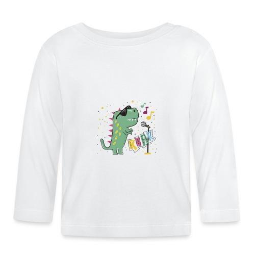 DINO MUSIC 1 - Camiseta manga larga bebé