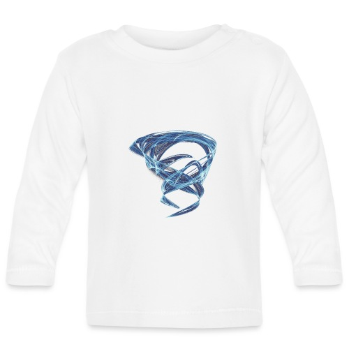 Chaotic Ice Water Whirlwind 11387ice - Baby Long Sleeve T-Shirt
