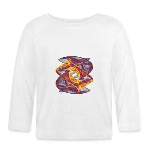 Eye in Inferno 7247i - Baby Long Sleeve T-Shirt