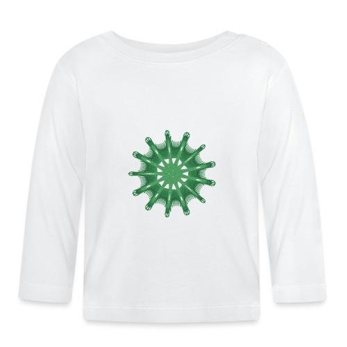 green steering wheel Green starfish 9376alg - Baby Long Sleeve T-Shirt