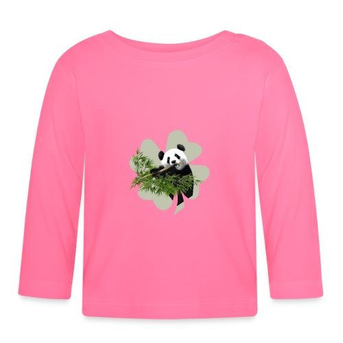 My lucky Panda - T-shirt manches longues Bébé