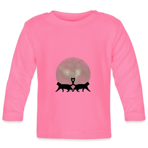 Cats in the moonlight - T-shirt