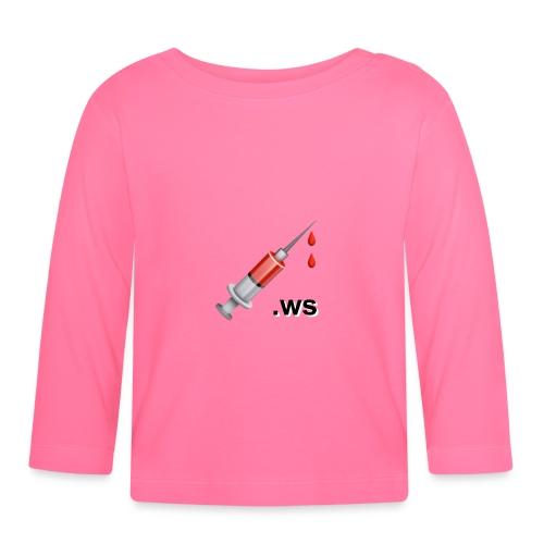 Spritze, 💉.ws - Baby Langarmshirt