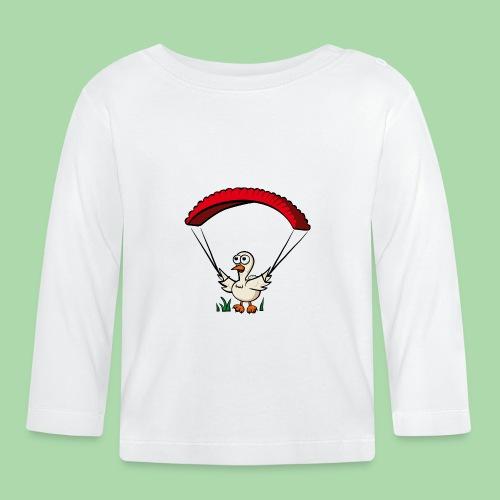 Groundhendl Groundhandling Hendl Paragliding - Baby Langarmshirt