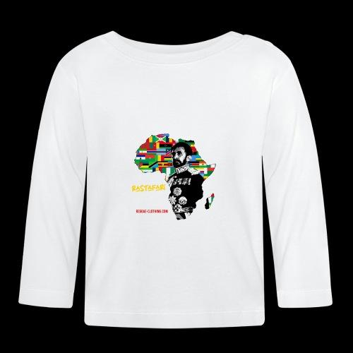 RASTAFARI ALL NATIONS - Baby Langarmshirt