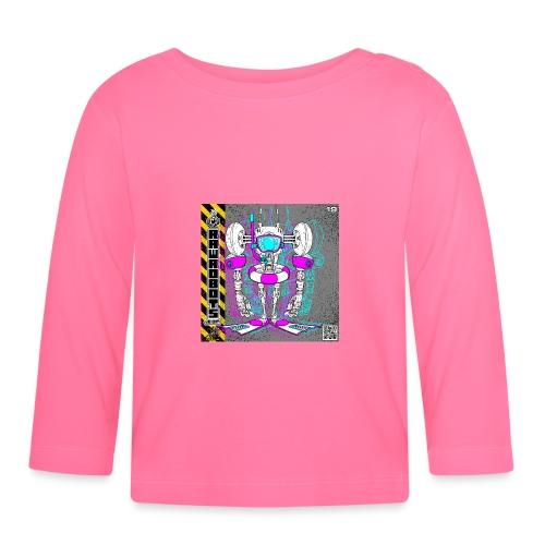 The B.E.A.C.H. Robot! - Langærmet babyshirt