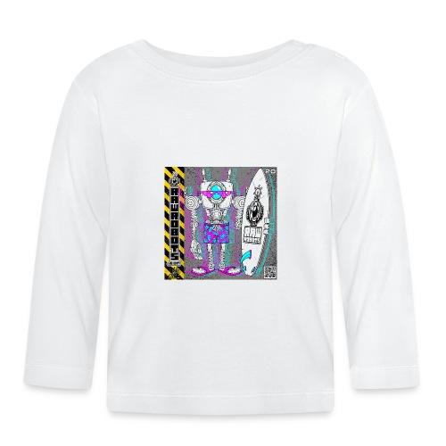 The S.U.R.F. ´s Upload Robot! - Langærmet babyshirt
