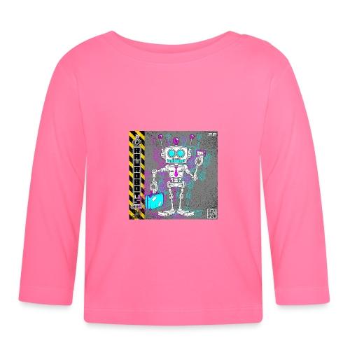 The S.A.L.E. Robot! - Langærmet babyshirt