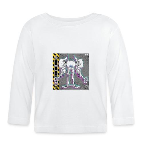 The E.X.T.E.N.D. Robot! - Langærmet babyshirt