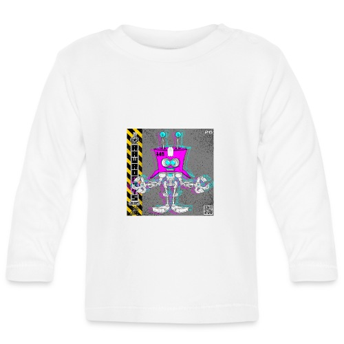The B.O.X. Robot! (Basic Office Xerox)! - Langærmet babyshirt