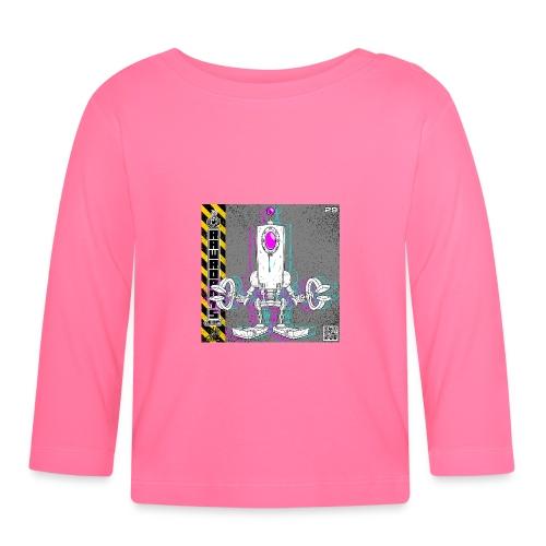 The D.R.O.P. Robot! - Langærmet babyshirt