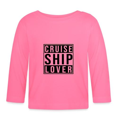 Kreuzfluenzer - Cruise Ship Lover - Baby Langarmshirt