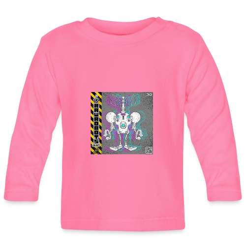 The S.E.E K. Robot! - Langærmet babyshirt