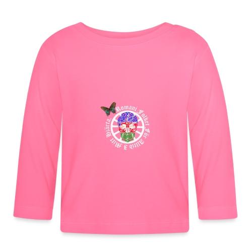 LennyhjulRomaniFolketivitfjerliskulle - Långärmad T-shirt baby