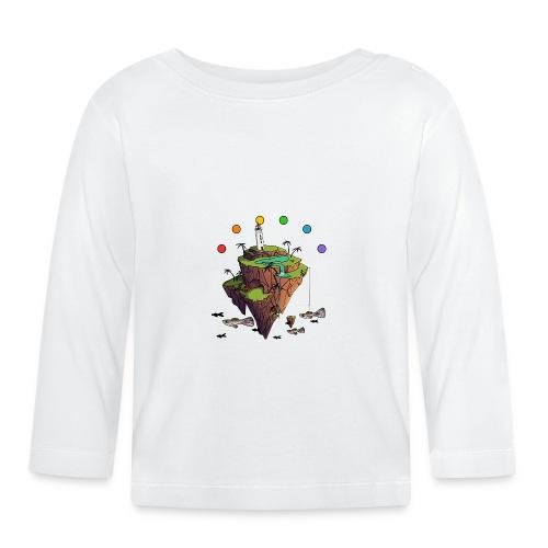 Pride island - Langærmet babyshirt