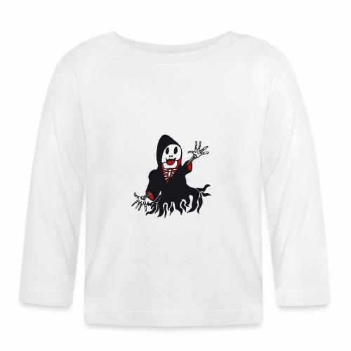 grim reaper funny style - T-shirt manches longues Bébé