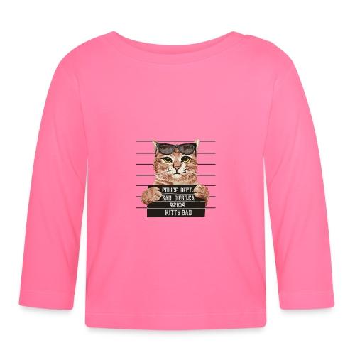 kitty bad - T-shirt manches longues Bébé