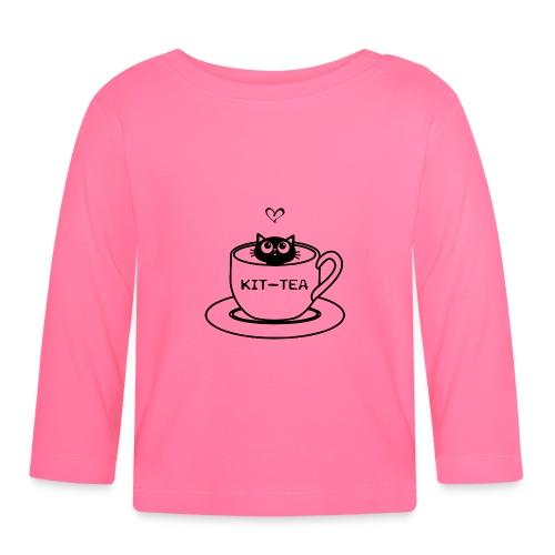 CAT TEA - T-shirt manches longues Bébé