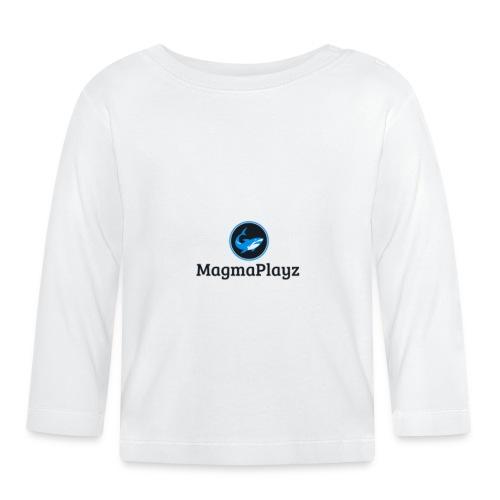 MagmaPlayz shark - Langærmet babyshirt