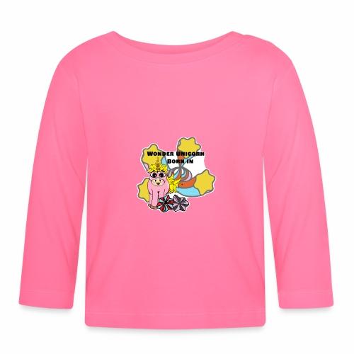 Merveilleuse Licorne née (pour fille) - T-shirt manches longues Bébé