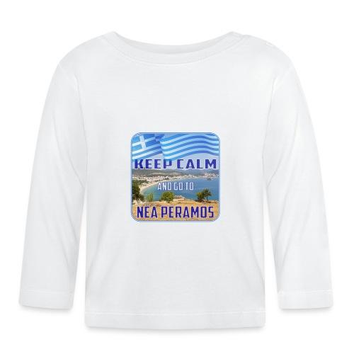 KEEP CALM and go to NEA PERAMOS / Greece - Baby Langarmshirt