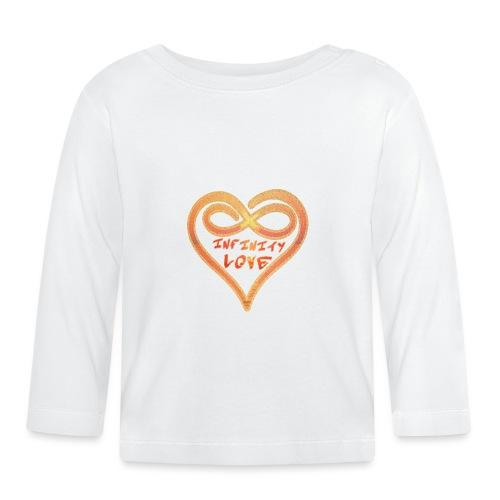 INFINITY LOVE - UNENDLICHE LIEBE - Baby Langarmshirt
