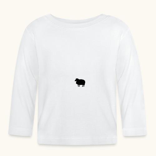 Lustige Schafherde Schwarzes Schaf Geschenkidee - T-shirt manches longues Bébé