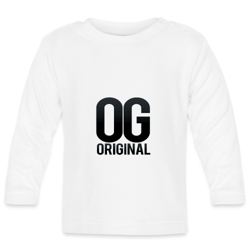 OG as original - Baby Long Sleeve T-Shirt