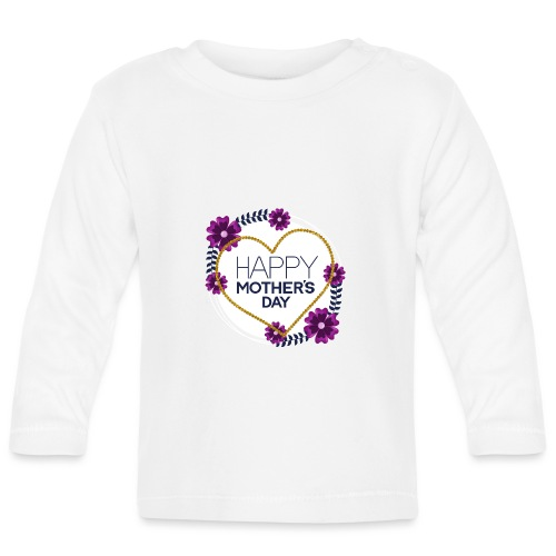 mors dag - Langærmet babyshirt