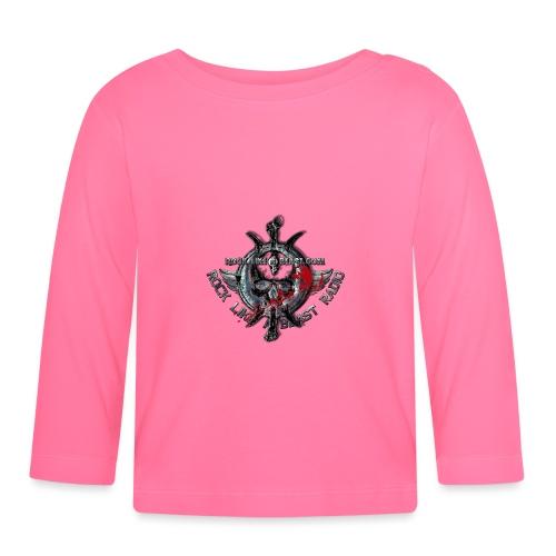 Blood Skull Logo - Långärmad T-shirt baby