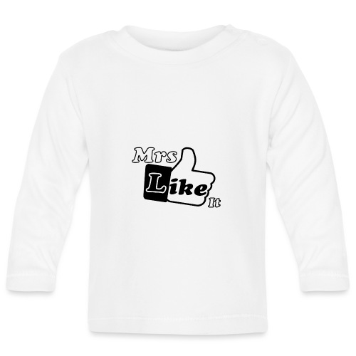 Mrs Like it - shirt (zwart-wit) - T-shirt