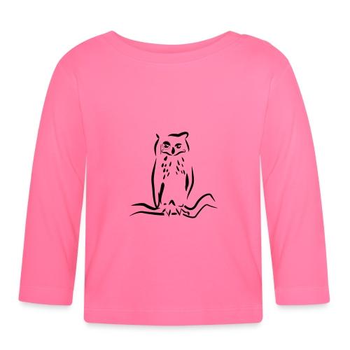 Gufo - Maglietta a manica lunga per bambini