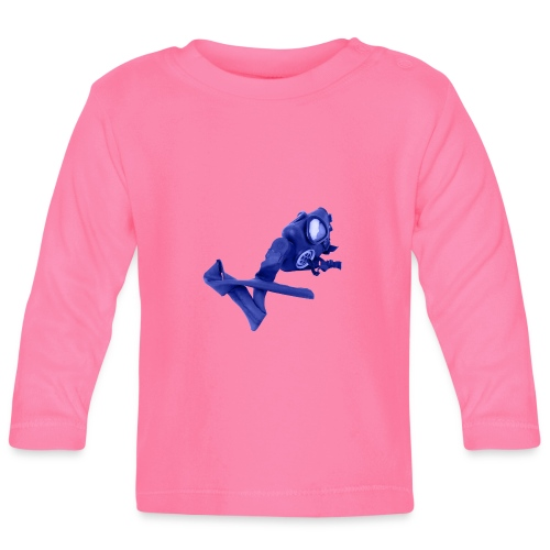gas mask - Baby Long Sleeve T-Shirt