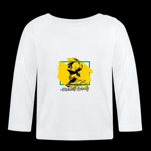 MARCUS GARVEY by Reggae-Clothing.com - Baby Langarmshirt