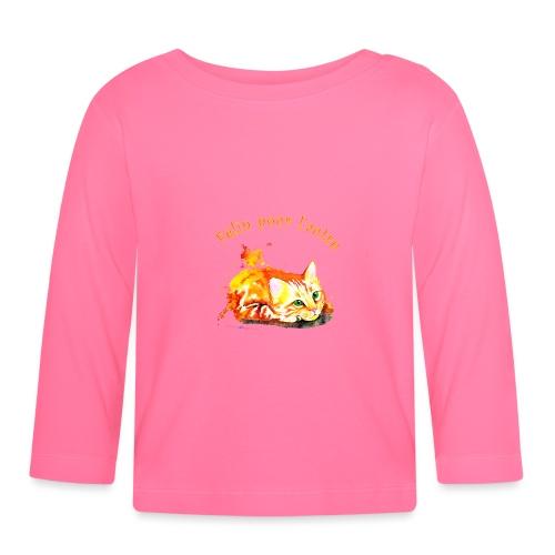 Chat roux,Félin pour l'autre - T-shirt manches longues Bébé