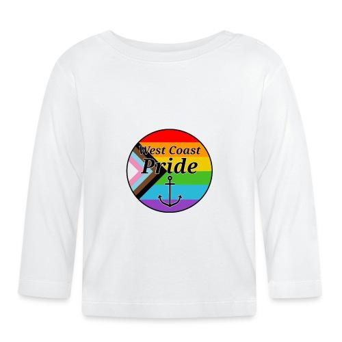 progressive pride flag - Langærmet babyshirt