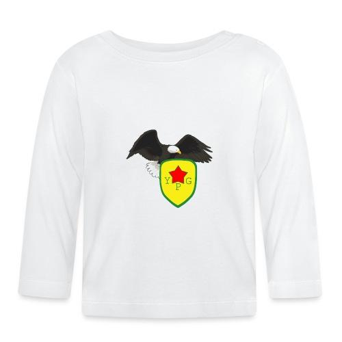 Mens Support YPG Hoodie - Vauvan pitkähihainen paita